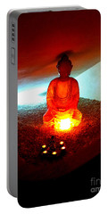Glowing Buddha Portable Battery Charger