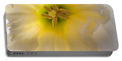 Glowing Daffodil Portable Battery Charger