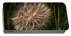 Glowing Dandelion Portable Battery Charger