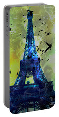Glowing Eiffel Tower Portable Battery Charger