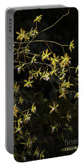 Glowing Orchids Portable Battery Charger