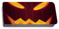 Glowing Pumpkin Portable Battery Charger