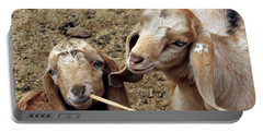 Goats #2 Portable Battery Charger