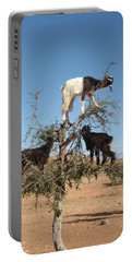 Goats In A Tree Portable Battery Charger