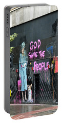 God Save The People Portable Battery Charger