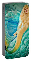 Portable Battery Charger featuring the photograph Goddess Atargatis 1000 Bc by Gary Keesler