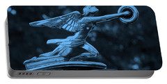 Portable Battery Charger featuring the photograph Goddess Hood Ornament  by Patrice Zinck
