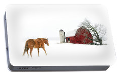 Portable Battery Charger featuring the photograph Going Home by Ann Lauwers