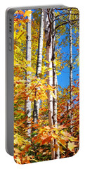 Gold Autumn Portable Battery Charger