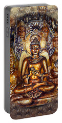 Gold Buddha Portable Battery Charger
