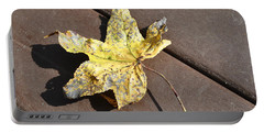 Gold Leaf Portable Battery Charger