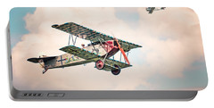 Golden Age Of Aviation - Replica Fokker D Vll - World War I Portable Battery Charger