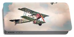 Golden Age Of Aviation - Replica Fokker D Vll - World War I Portable Battery Charger