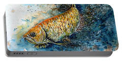 Golden Arowana Portable Battery Charger