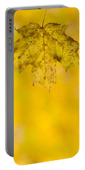 Portable Battery Charger featuring the photograph Golden Autumn by Sebastian Musial