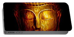 Golden Buddha Abstract Portable Battery Charger