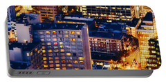Golden Cityscape Vancouver Mcccl Portable Battery Charger
