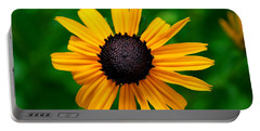 Portable Battery Charger featuring the photograph Golden Flower by Matt Harang