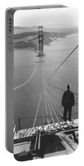 Golden Gate Bridge Cables Portable Battery Charger