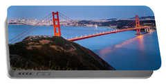 Golden Gate Bridge Portable Battery Charger by Mihai Andritoiu