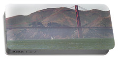 Golden Gate Bridge Panorama Portable Battery Charger