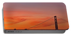 Golden Gate Sunset Portable Battery Charger