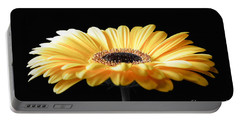 Golden Gerbera Daisy No 2 Portable Battery Charger