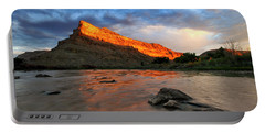 Portable Battery Charger featuring the photograph Golden Highlights by Ronda Kimbrow