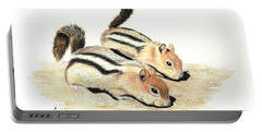 Golden-mantled Ground Squirrels Portable Battery Charger
