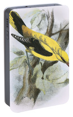 Golden Oriole Portable Battery Charger by English School