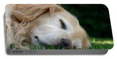 Golden Retriever Dog Sweet Dreams Portable Battery Charger