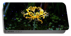 Golden Spider Lily Portable Battery Charger