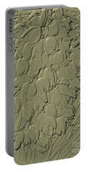 Golden Stone   Flowers Portable Battery Charger