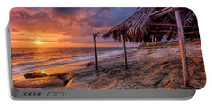 Golden Sunset The Surf Shack Portable Battery Charger