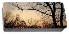 Portable Battery Charger featuring the photograph Golden Sunset by Todd Blanchard