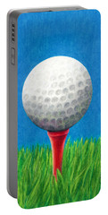 Golf Ball And Tee Portable Battery Charger