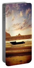 Portable Battery Charger featuring the photograph Gone Fishin' by Aaron Berg
