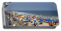 Good Beach Day At Bethany Beach In Delaware Portable Battery Charger