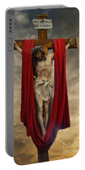 His Ultimate Gift Of Mercy - Jesus Christ Portable Battery Charger