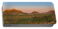 Portable Battery Charger featuring the photograph Good Morning Badlands II by Patti Deters