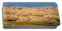 Portable Battery Charger featuring the photograph Good Morning Badlands I by Patti Deters