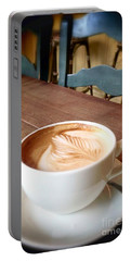 Good Morning Latte Portable Battery Charger