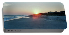 Portable Battery Charger featuring the photograph Good Night Day by Roberta Byram