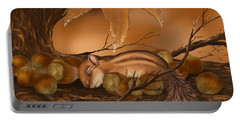 Goodnight Baby Squirrel Portable Battery Charger