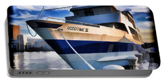 Portable Battery Charger featuring the photograph Goodtime IIi - Cleveland Ohio by Mark Madere