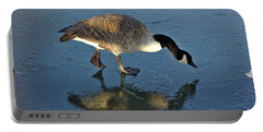 Goose On Ice Portable Battery Charger