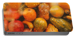 Portable Battery Charger featuring the photograph Gorgeous Gourds by Ira Shander