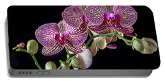 Gorgeous Orchids Portable Battery Charger