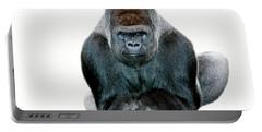Gorille De Plaine Gorilla Gorilla Portable Battery Charger by Gerard Lacz