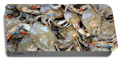 Blue Claw Crabs Portable Battery Charger